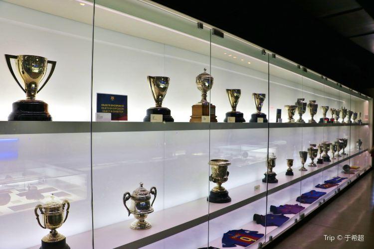 巴塞羅那足球俱樂部博物館4