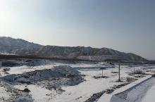 大雪后的乌海