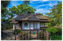 走近日本的园林景观之一广岛的缩景园。