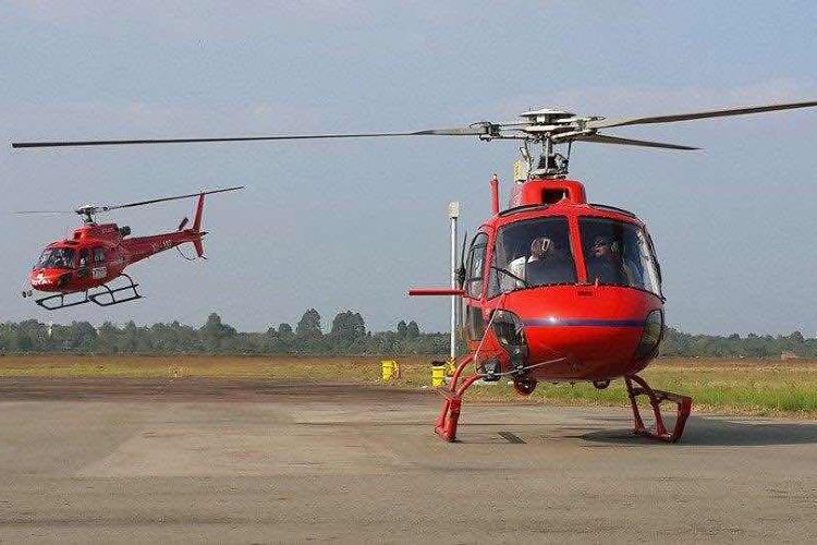 Siem Reap Helicopter tour Angkor2