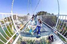 海口出发2个半小时!挑战首座会碎的夜光3D玻璃桥!恐怖过蹦极一万倍!