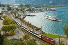 这个国家的火车游世界第一,雪山、牧场、老城都是戏!