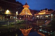 夜晚的侗寨是另一个景象