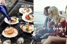 夏天,阳光,周末,去沙滩开海鲜BBQ派对!