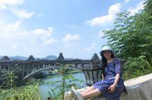 心里有桥,何惧风雨:三江风雨桥是世界上最长的风雨桥。