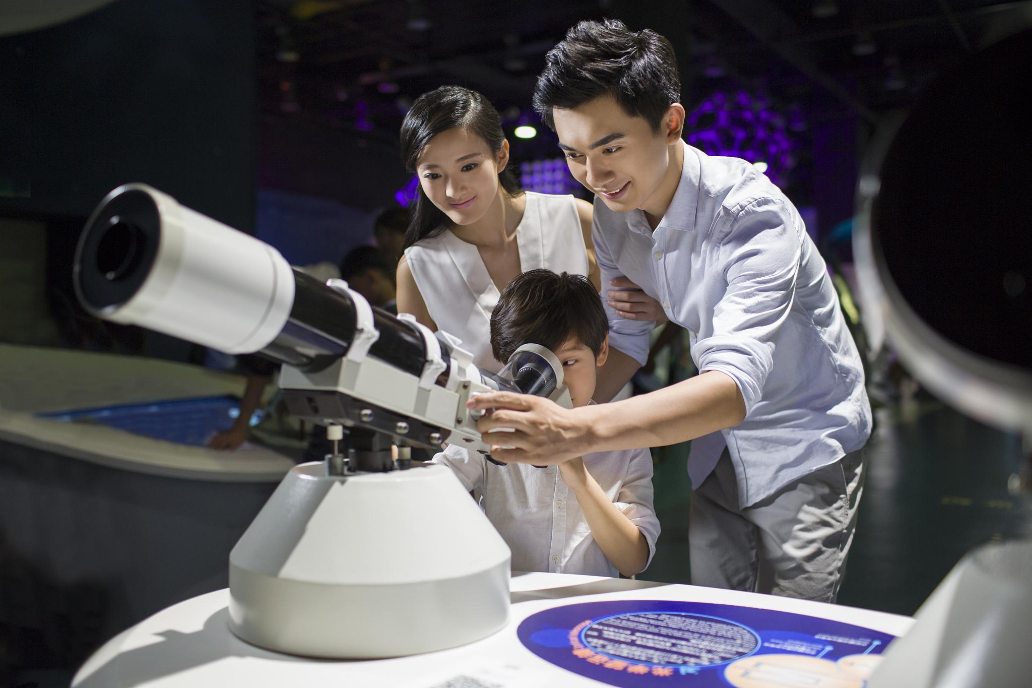 中国科学技术馆旅游景点图片