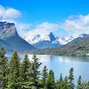 冰川国家公园游记图文-徒步美国冰川公园   行走过的风景