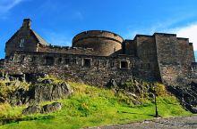 恢弘的爱丁堡城堡
