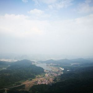 黄姚仙女湖花海旅游景点攻略图