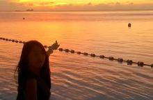 海岛的夕阳和晚霞