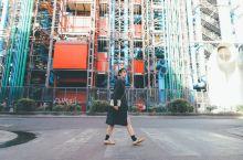 巴黎ins超火的管道网红建筑—蓬皮杜艺术中心