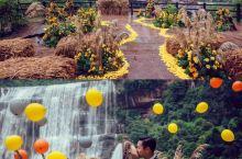 谁说只有国外结婚洋气?看看我们贵州赤水大瀑布下的婚礼