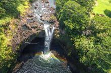 真的有彩虹的彩虹瀑布