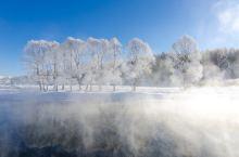 #最美冬季雪景#冬季呼伦贝尔,依旧那么美