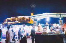 马拉喀什的传统市场