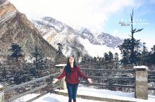 #向往的生活# 3600米营地上的冰川风光