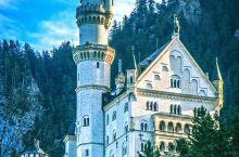 新天鹅堡:周杰伦在这拍婚纱照,迪斯尼城堡的原形就是它