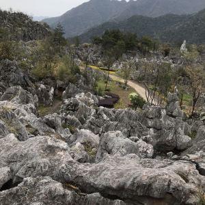 千岛湖石林景区旅游景点攻略图