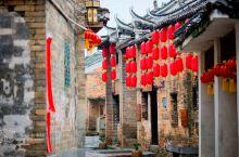 富川游|金黄油菜花灿开于800年历史的深坡村