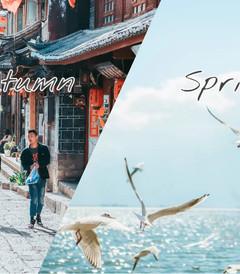 [云南游记图片] 大理的春,丽江的秋,在云南追一个七彩斑斓的梦