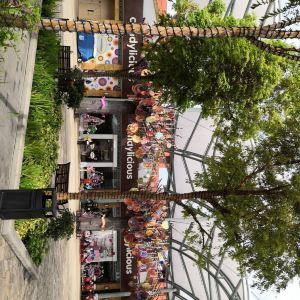环球影城美食广场旅游景点攻略图