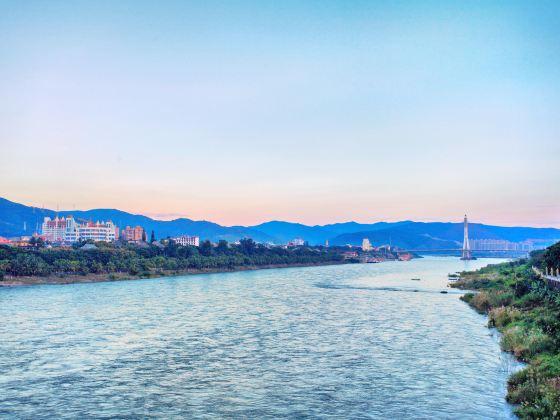 란창강 풍경