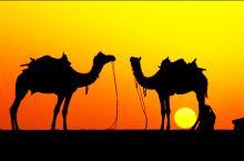 #浪漫的事# 大漠孤烟,世界最小沙漠邂逅浪漫日落