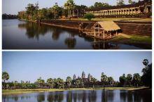 当时是元旦节去的柬埔寨,还记得在暹粒过新年,也特别热闹,氛围很好,当时真的很想每年元旦都出来旅行,跨