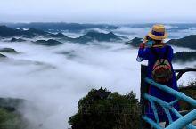2019年3月中旬 从温州一路过来 下雨天 正好看到云海了