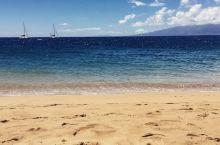 阳光、沙滩、椰子树——是令人向往的沙滩  之前在旅游网站的游记上看到过关于卡阿纳帕利银色沙滩的介绍,