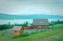 冰岛的神湖