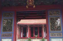 清朝的建筑,历史悠久,但遊人不算多。