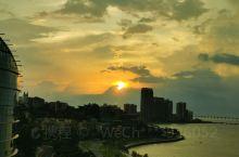 珠海海湾酒店窗外的景色