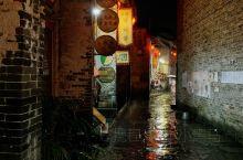 雨夜中的黄姚古镇