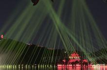 偶遇顺峰山公园灯光音乐节&我和我的祖国
