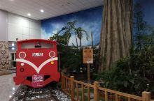 台北最大的机场,候机楼有很多台湾景点的主题,阿里山小火车还蛮应景的