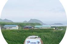 礼文岛风光。图一正中是为桃岩。图二是须古顿岬了望台,上方是库页岛。