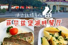 美食探店 | 奥地利湖区特色菜,没别的就是鱼  太阳下山后,在富施尔湖边散步时,逛到一家气氛很好的餐
