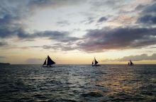 长滩岛落日