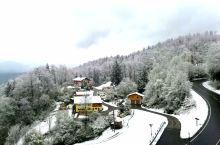 奥地利萨尔斯堡的雪。