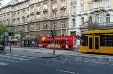 布达佩斯的街景
