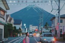 日本旅行富士山街景拍照点  富士五湖之一的河口湖,眺望富士山的角度最完整也最漂亮,可以全方位360度