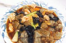 回家就是各种晒吃。 家乡大连味道: 海鲜焖子,菠菜拌毛蚬子,海螺水饺。 还是大爱海鲜。