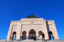 穆罕穆德五世陵墓,是拉巴特的重要景点之一。他是前国王哈桑二世的父亲,也是摩洛哥脱离法国的保护国之后的