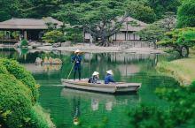 """栗林公园,历史数百年的""""特别名胜""""  最近大家都被日本捐赠医疗物资附上的那句""""山川异域,风月同天""""刷"""