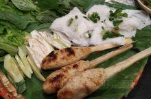 越南很好吃的甘蔗虾!!