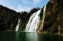 """九龙瀑布群    罗平九龙瀑布群,国家AAAA级景区,号称九龙十瀑,当地人也叫它""""大叠水""""。峡谷中十"""