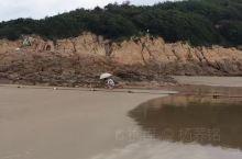 我在松兰山海滨浴场