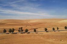 卡萨布兰卡——马拉喀什,一场火车之旅。 窗外是撒哈拉沙漠,准确的说是其边缘。我对摩洛哥最开始的向往就