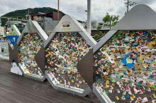 哈喽~我在韩国中部城市——春川,在春川有很有名的江叫招阳江可以看到昭阳江天空步道(소양강스카이워크)